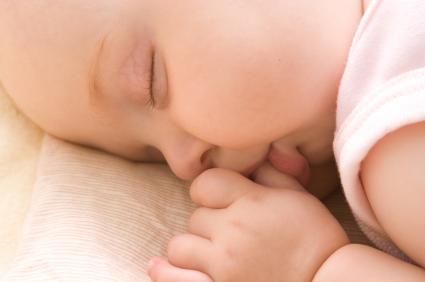 Baby Tummy Sleeping