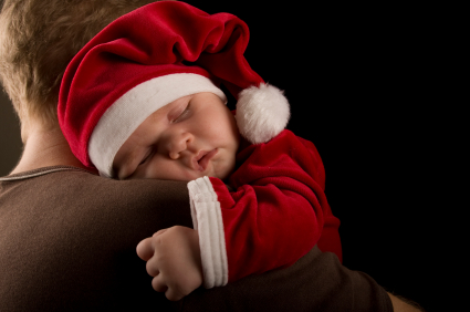 Making Sure Baby Sleeps During the Holidays (Warning: Free stuff mentioned)