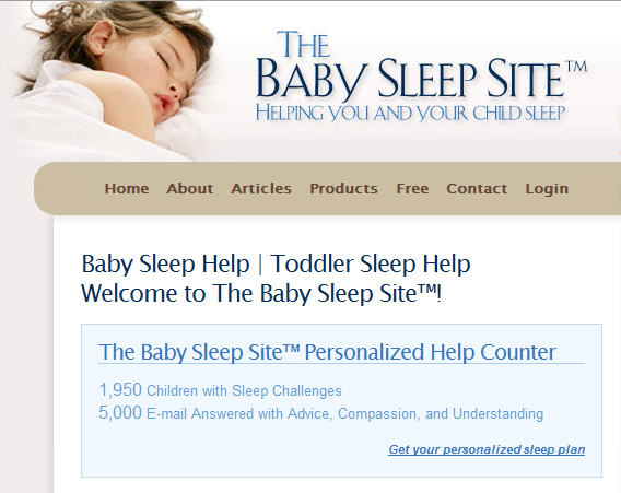 5,000 Baby Sleep Emails