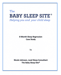 8 month sleep regression case study