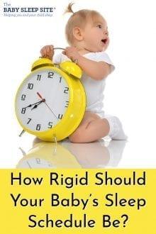 How Rigid Should Your Baby's Schedule Be
