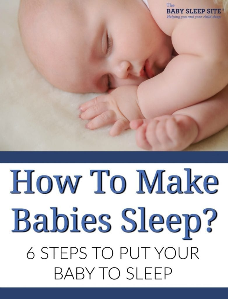 How to make babies sleep?  6 steps to help your baby sleep