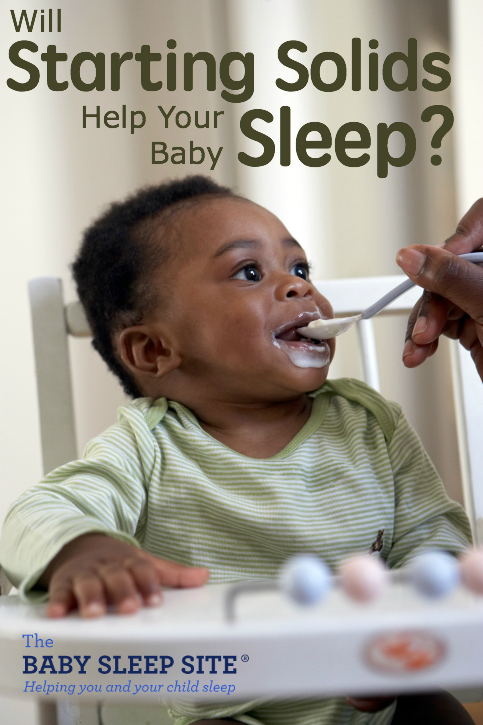 Starting Solids Help Baby Sleep