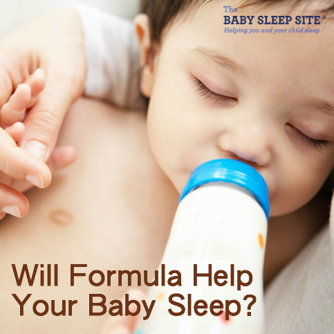 Will Formula Help Your Baby Sleep