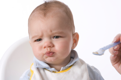 How Your Baby May React To Starting Solids