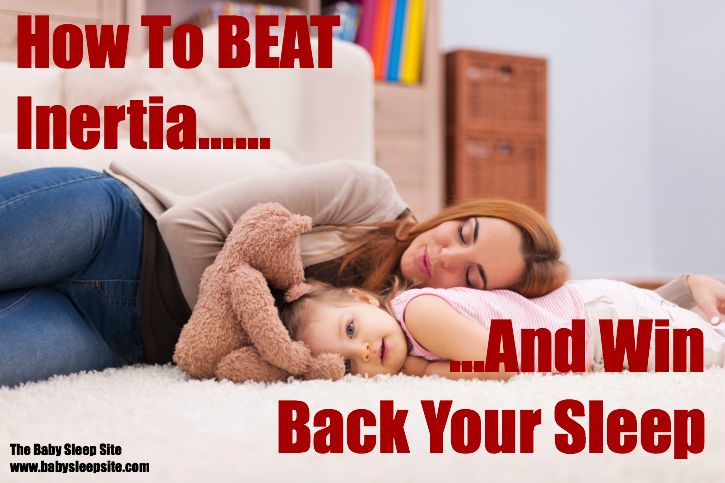 Sleep Training Inertia