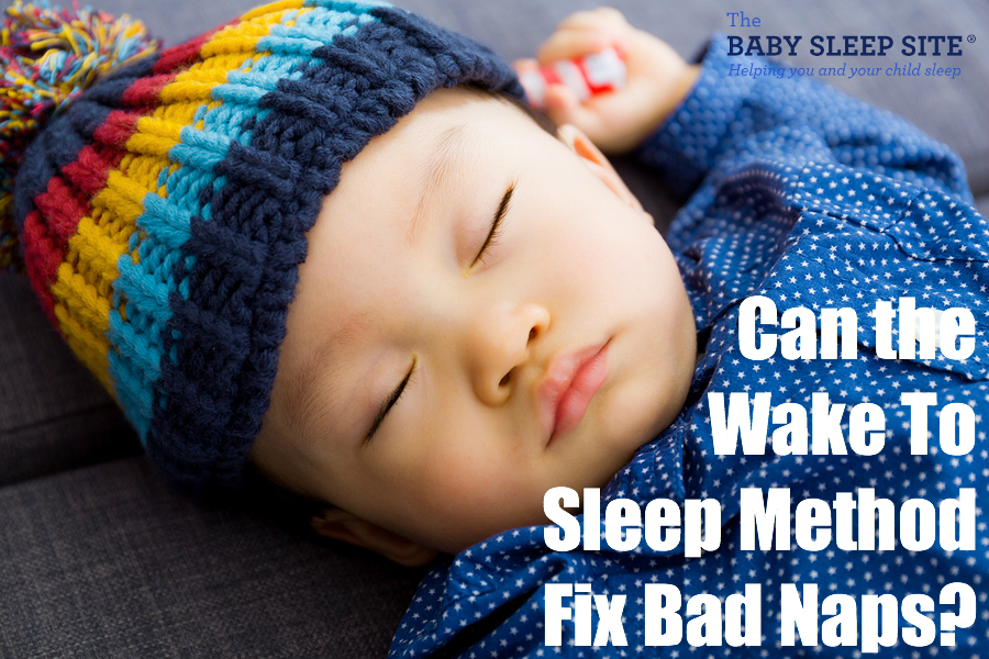 Wake to Sleep method For Naps