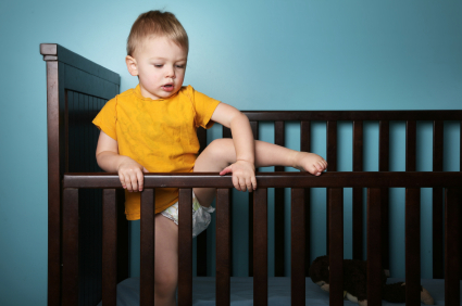 How to Handle Your Toddler (or Baby!) Climbing Out of the Crib