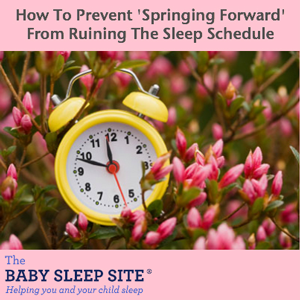 Daylight Saving Time Baby Sleep Help
