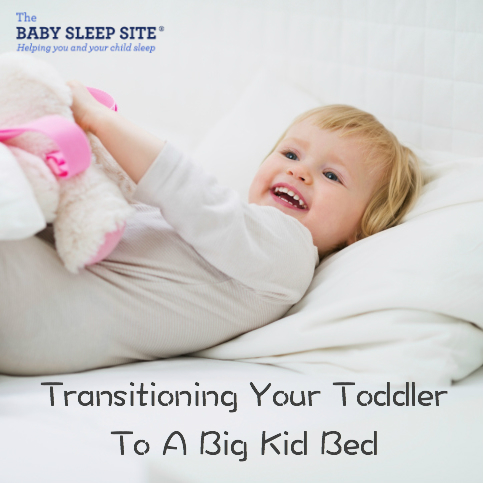 Transitioning Your Toddler To A Big Kid Bed