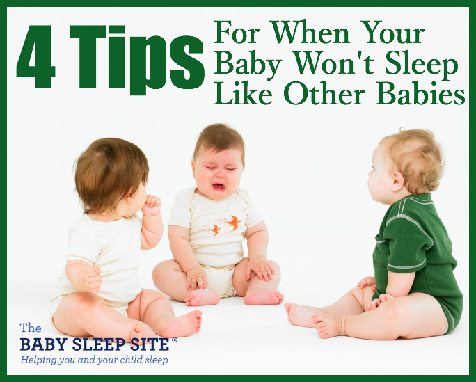 4 Tips When Your Baby Won't Sleep