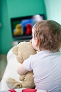 baby toddler sleep  television