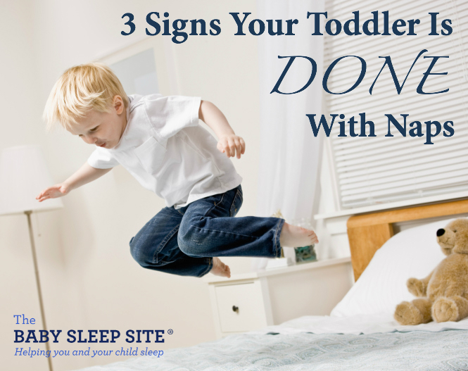 3 Signs Toddler Is Done With Naps