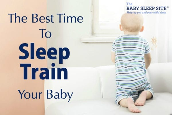 Best Time To Sleep Train Baby