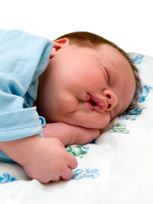 Fixed Points Help Baby Sleep