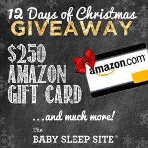 Baby Sleep Site 12 Days of Christmas Giveaway