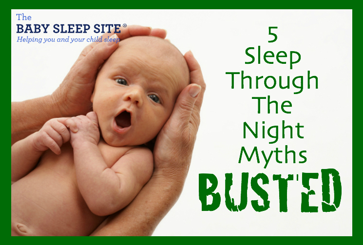5 Myths About Babies Sleeping Through The Night
