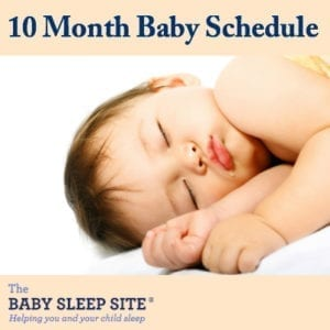 10 Month Old Baby Schedule
