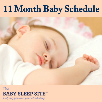 11 Month Old Baby Schedule