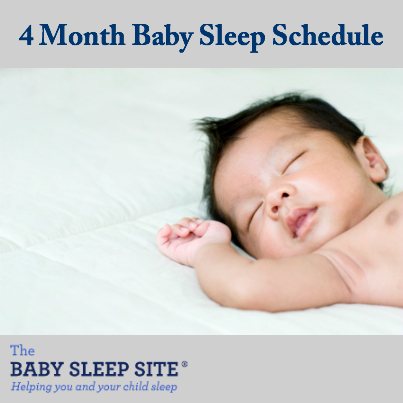 4 Month Old Baby Schedule The Baby Sleep Site Baby