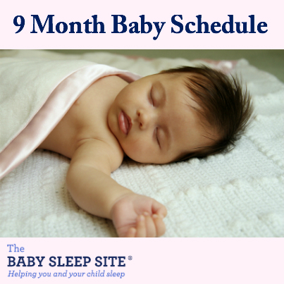 9 Month Old Baby Schedule The Baby Sleep Site Baby