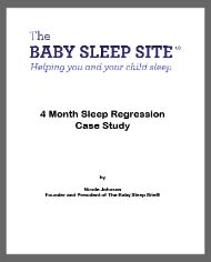 4 month sleep regression case study