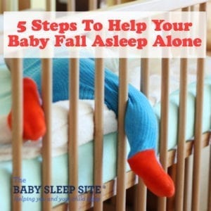 5 Steps To Help Your Baby Fall Asleep Alone