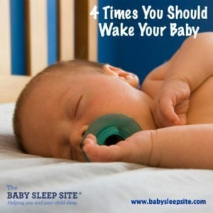 4 Times You Should Wake Your Baby From Sleep
