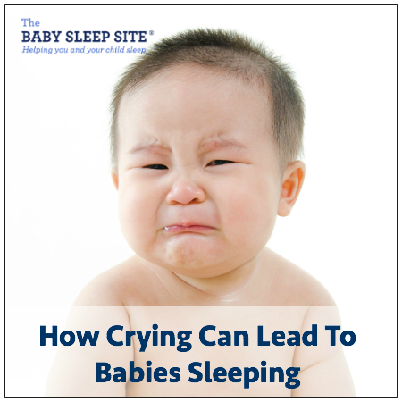 How Crying Can Lead To Babies Sleeping