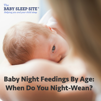 Night Feedings By Age - When Do You Night Wean?