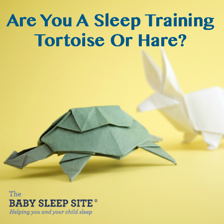 Are You A Sleep Training Tortoise Or Hare?