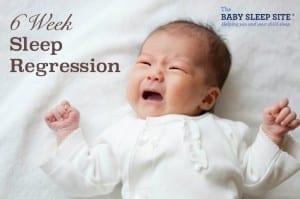 6 week growth spurt sleep regression