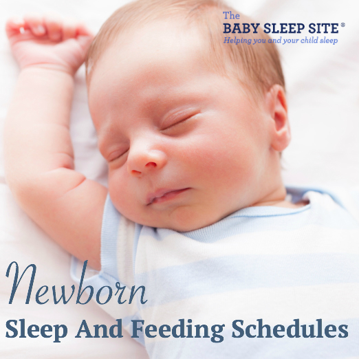 Newborn Baby Feeding And Sleep Schedule  The Baby Sleep Site  Baby