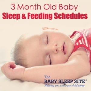 3 Month Old Baby Sleep Feeding Schedule