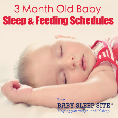 3 Month Old Baby Sleep and Feeding Schedule