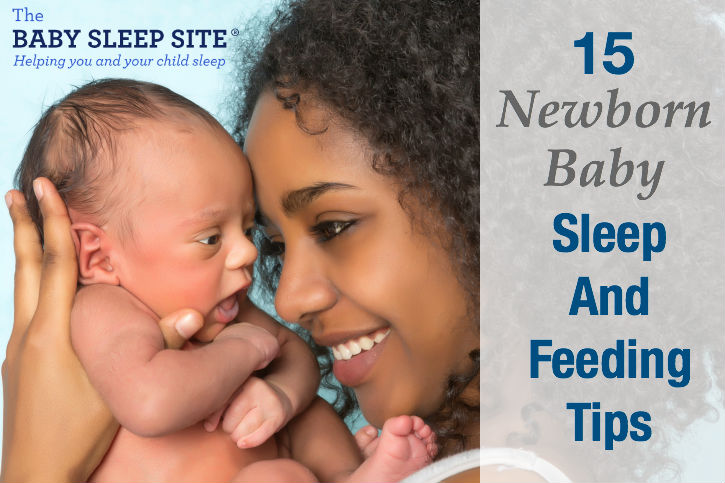 Newborn baby sleep feeding tips