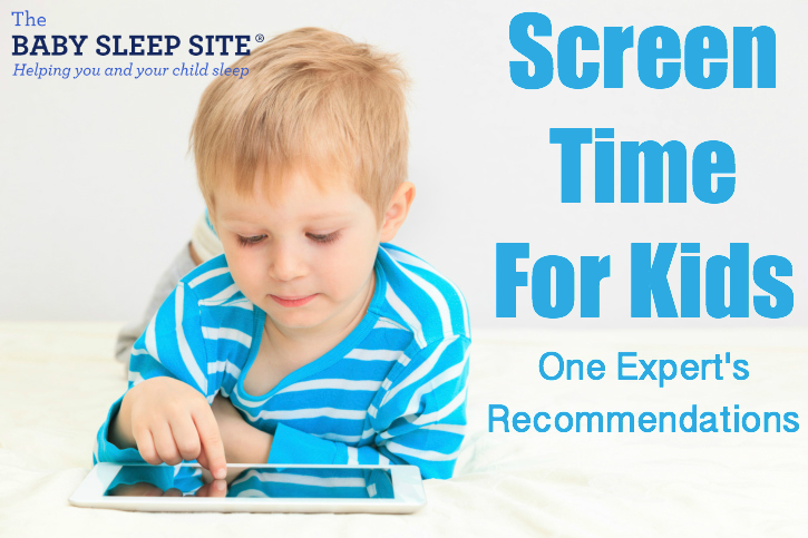 Screen Time For Kids One Expert S Recommendations The