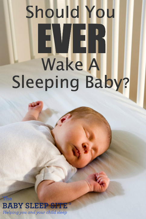 Should You Wake A Sleeping Baby?
