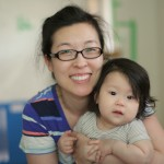 Me & 6 month Haera Kim
