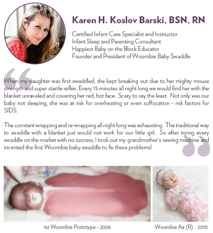 woombie-baby-swaddle-karen-quote