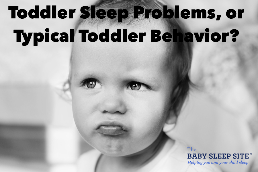 Toddler Sleep Problems or Typical Toddler Behavior?