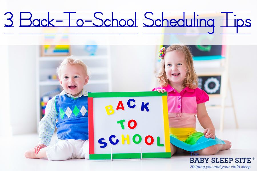 Back To School Scheduling Tips