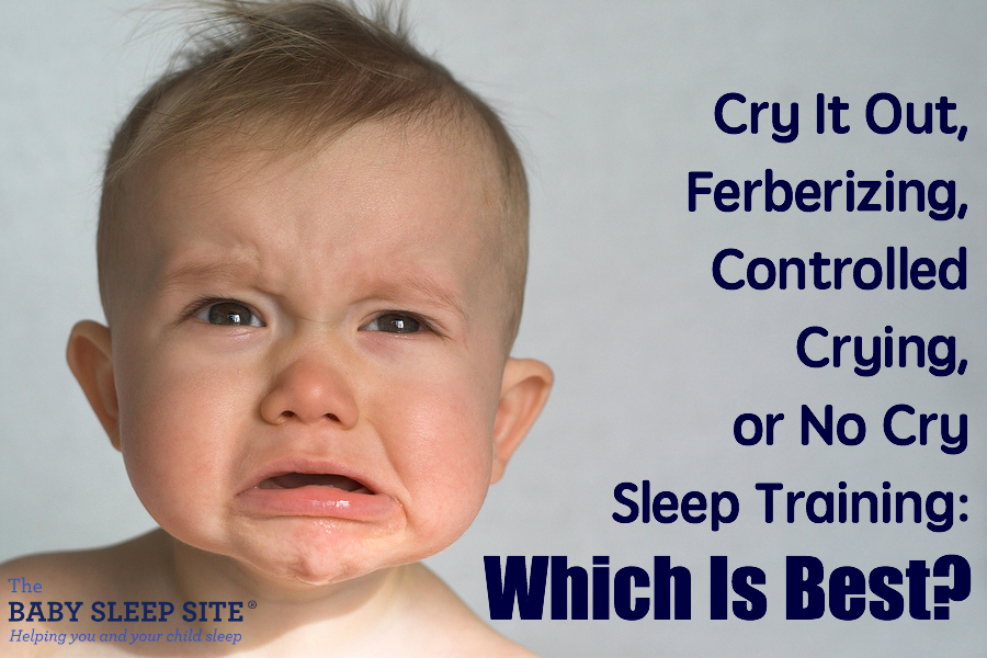 Cry It Out Ferberzing Controlled Crying Sleep Training