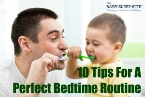Bedtime Routine Baby Toddler