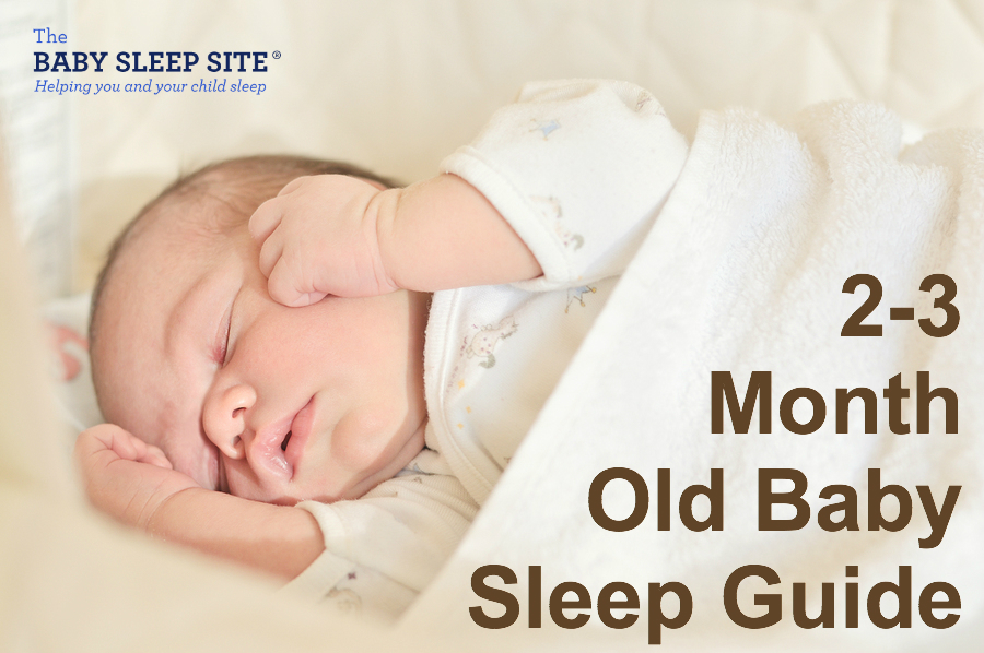 2 Month Old Or 3 Month Old Baby Sleep Guide The Baby