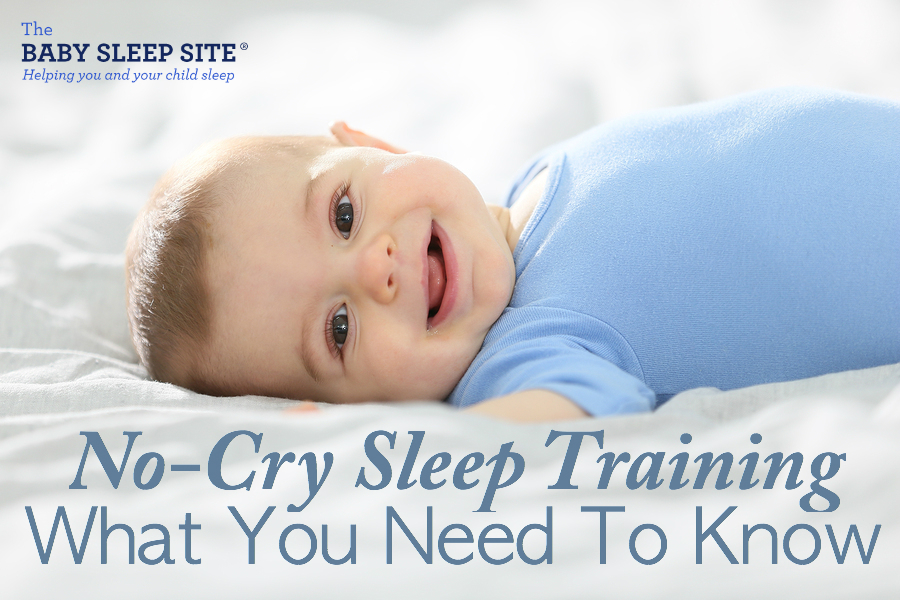 No-Cry Sleep Training For Babies and Toddlers