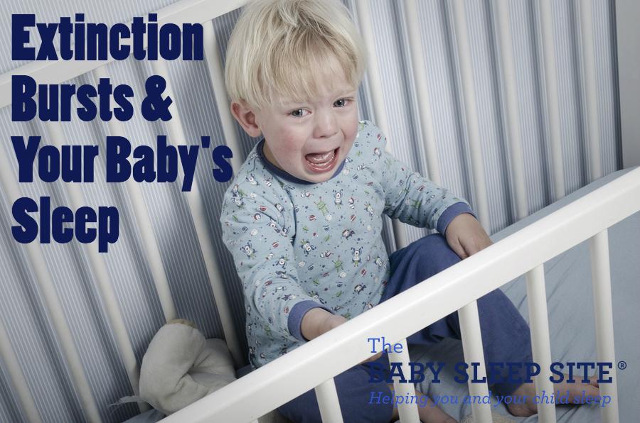 extinction bursts baby sleep