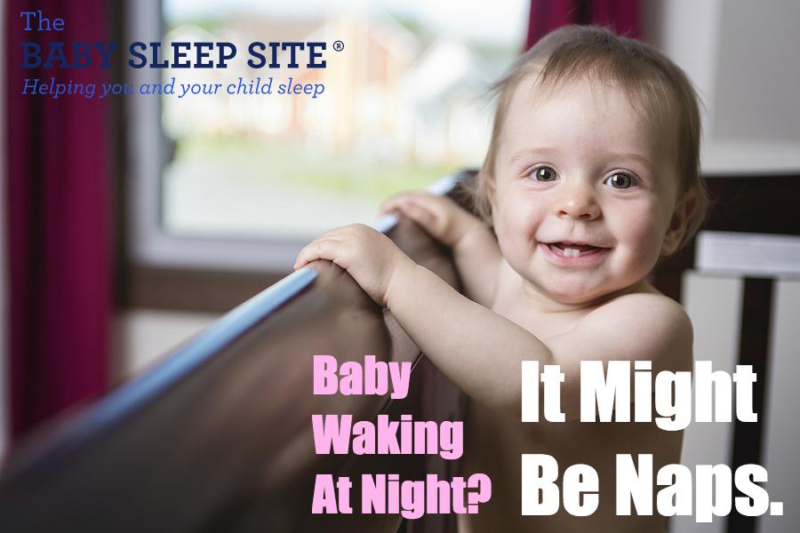 night waking baby naps