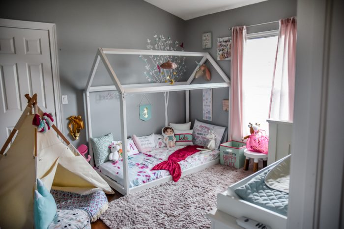 Why We Chose A Montessori Style Bedroom For Our Toddlers