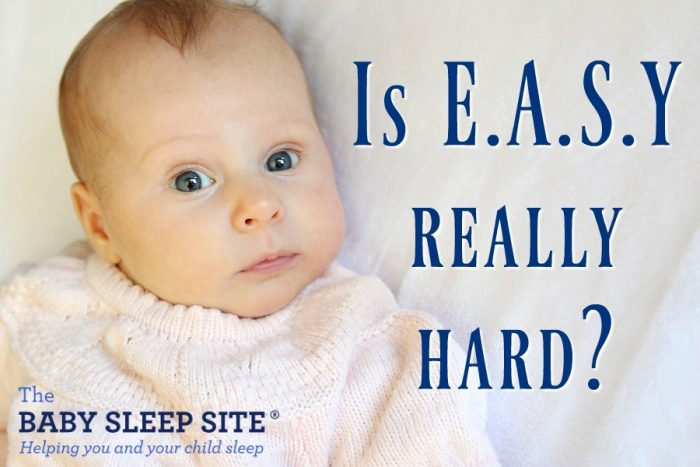 Does the E.A.S.Y. schedule make sleep more difficult for your baby?